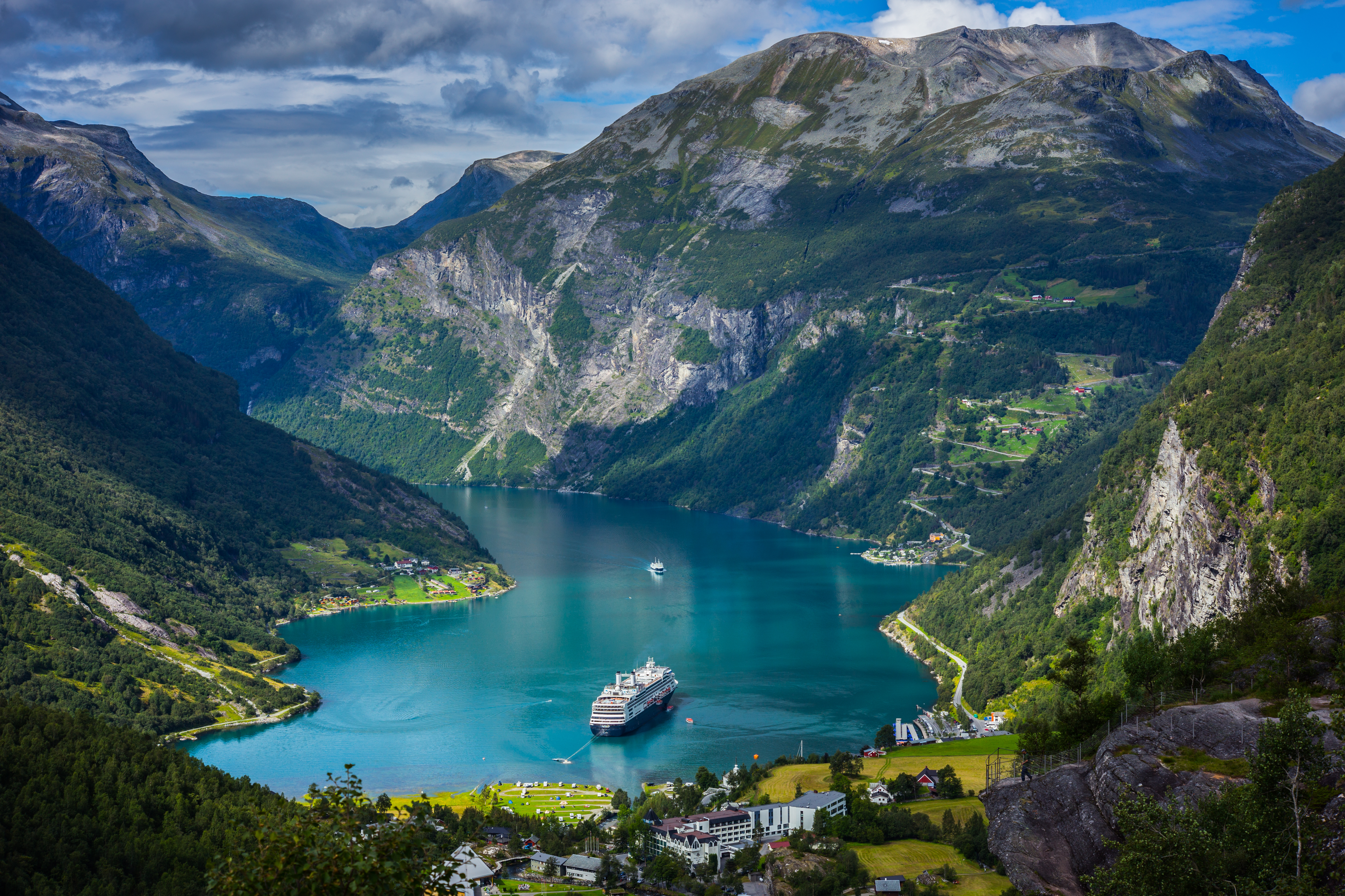 Beautiful, Norway fjords and Grace o'malley on Pinterest